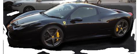 Voiture de sport Ferrari